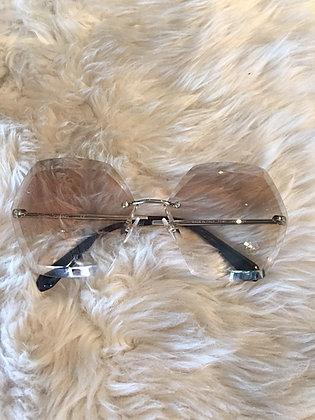 Chanel Round Spring Sunglasses