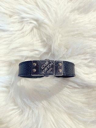 Louis Vuitton Reversible Damier Graphite Bracelet