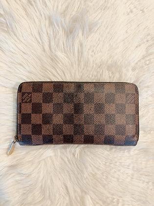 Louis Vuitton Damier Ébène Zippy Wallet