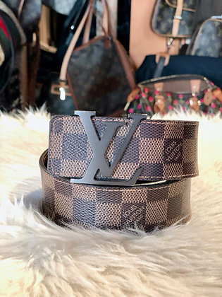 Louis Vuitton Damier Ébène Initiales 40MM Belt