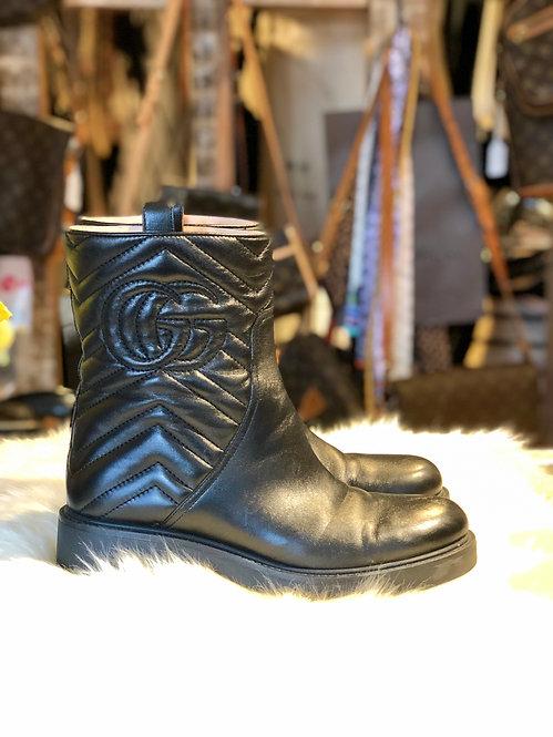 Gucci Matelassé Boots
