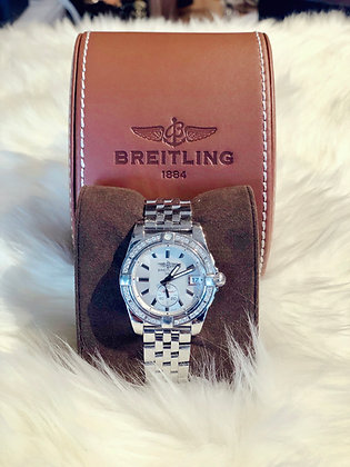 Breitling Galactic 36 Mother of Pearl Dial Diamond Unisex Watch