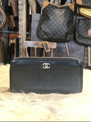 Chanel Zip Wallet