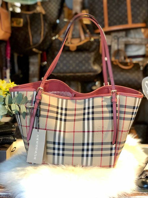 Burberry Horseferry Check Canterbury Tote