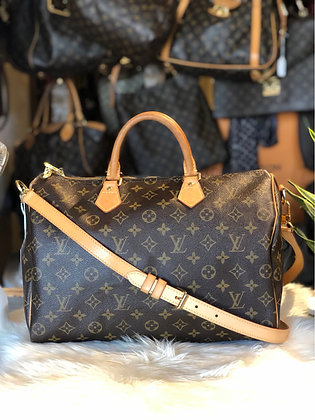 Louis Vuitton Monogram Speedy 35 Bandoulière