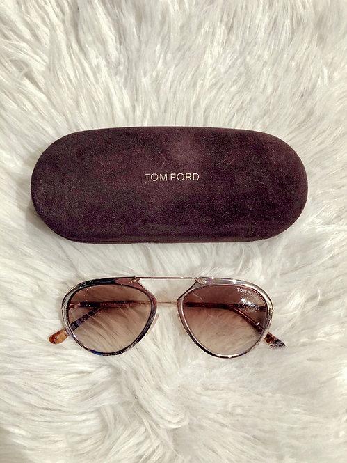 Tom Ford Aaron Aviator Sunglasses