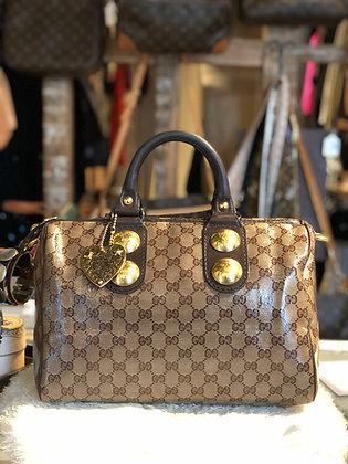 Gucci GG Crystal Babouska Boston Bag