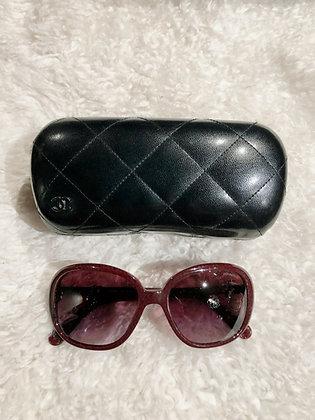 Chanel CC Oversize Sunglasses