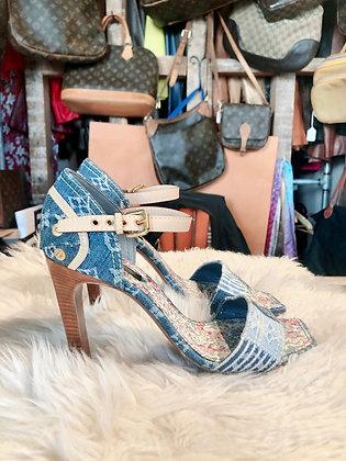 Louis Vuitton Denim Shoes