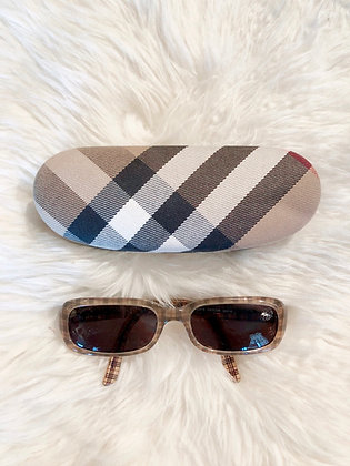 Burberry House Check Sunglasses