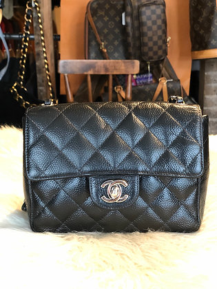 Chanel Mini Caviar Flap Bag