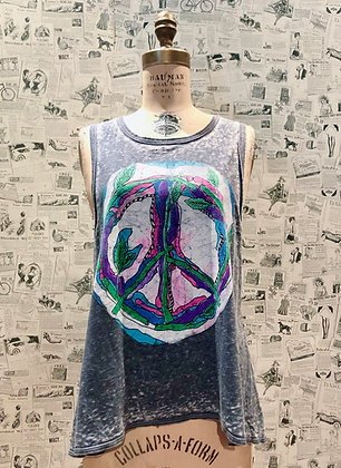 """Chaser """"Painted Peace"""" Tank Top"""