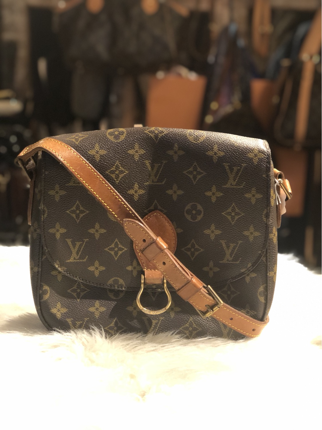 Louis Vuitton Monogram St.Cloud GM