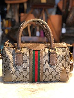 Gucci GG Plus Boston Bag w/st