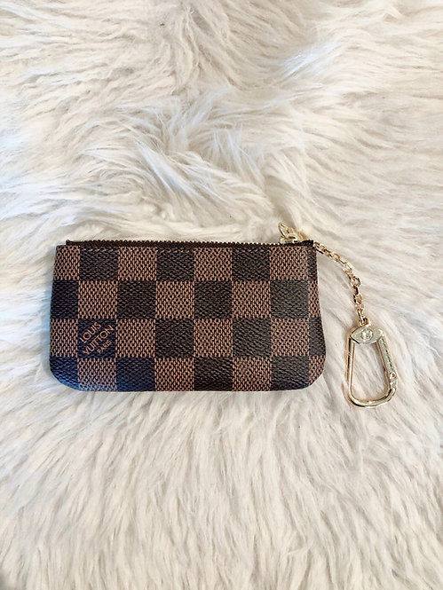 Louis Vuitton Damier Ébène Key Pouch