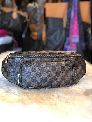 Louis Vuitton Damier Ébène Melville Waiste Bag