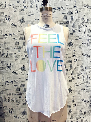 "Chaser ""Feel The Love"" Tank Top"