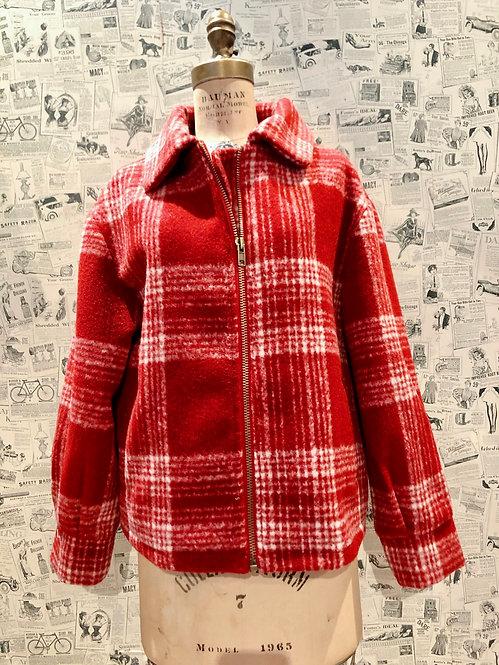Sage «Plaid» Coat