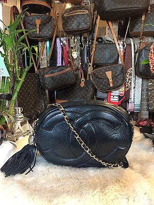 Chanel Vintage Oval Tassel Bag