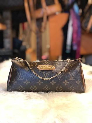 Louis Vuitton Monogram Eva Clutch w/strap