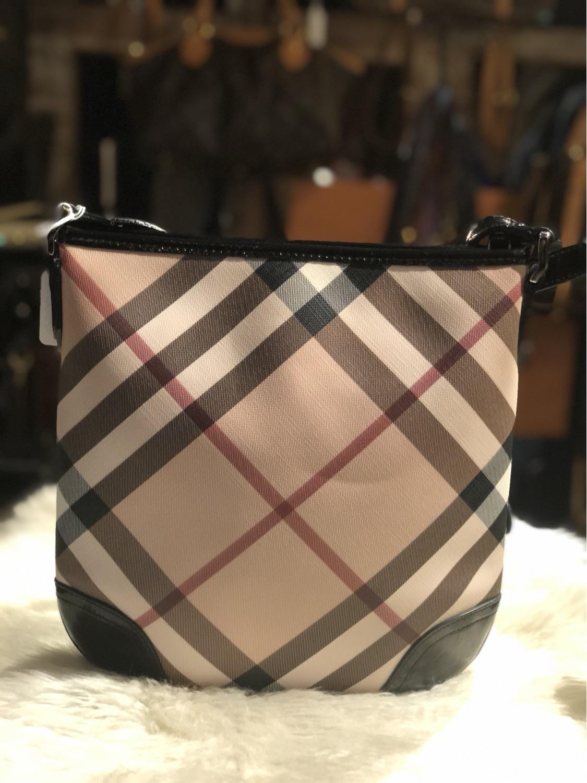 Thumbnail: Burberry Super Nova Check Crossbody Bag