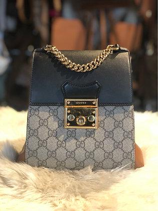 Gucci GG Supreme Padlock Backpack