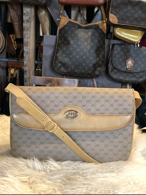 Gucci Micro GG Crossbody / Clutch Bag
