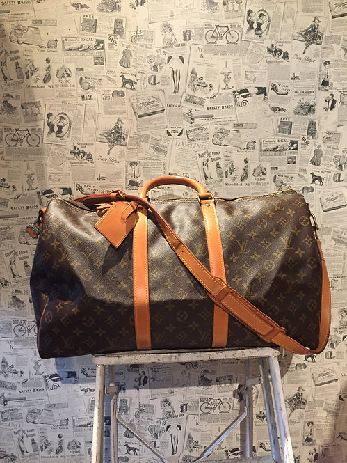 Louis Vuitton Monogram Keepall Bandoulière 50 Bag