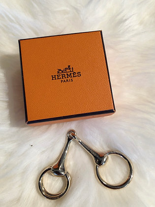 Hermès Horsebit Scarf Ring
