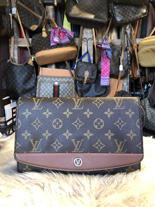 Louis Vuitton Monogram Pochette Bordeaux
