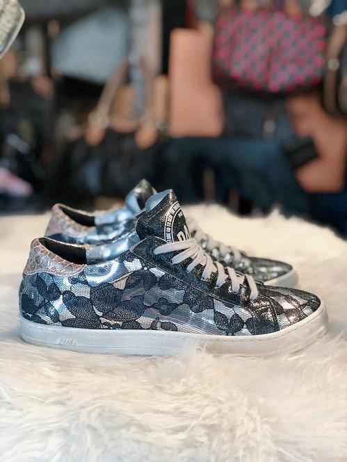 P448 Parent Leather & Lace Low-Top Sneaker