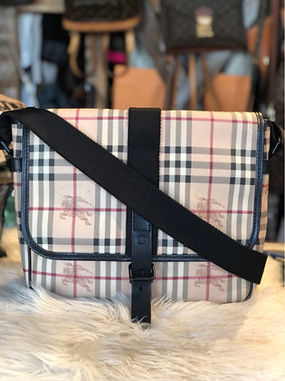 Burberry Nova Check Messenger Bag
