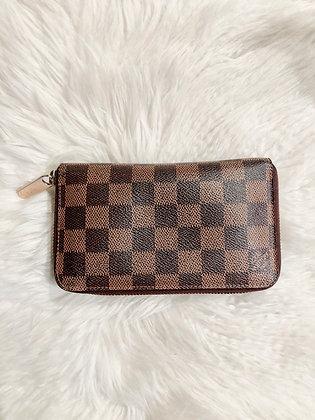 Louis Vuitton Damier Ébène Zippy Compact Wallet
