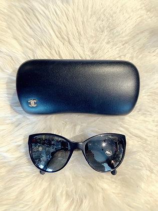 Chanel Chain-link Sunglasses