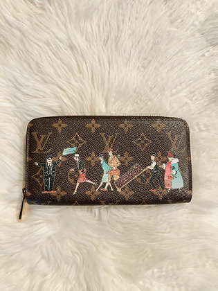 Louis Vuitton Monogram Illustre Zippy Wallet