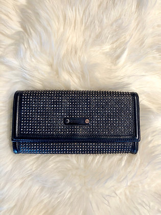 Burberry Studded Continental Wallet