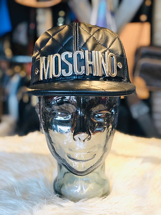 Moschino Leather SnapBack