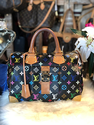 Louis Vuitton Multicolor Monogram Speedy 30