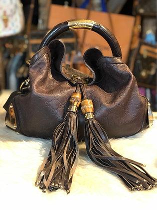 Gucci Signature Babouska Indy Bag