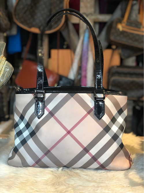 Burberry Exploded Check Tote