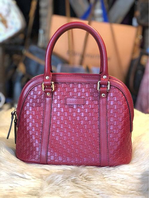 Gucci Microguccissima leather Mini Dome bag
