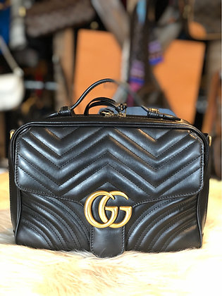 Gucci GG Marmont Small Matelassé Bag