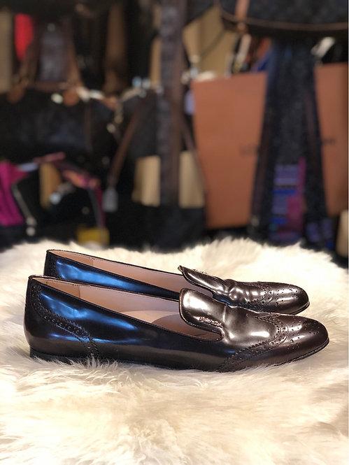 Prada Leather Loafers
