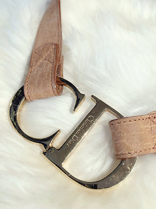 Christian Dior Leather Waiste Belt