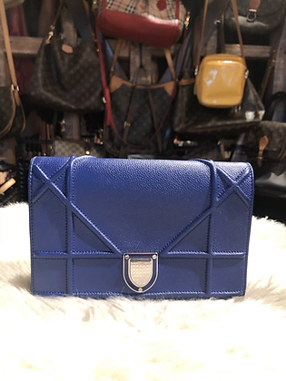 Christian Dior Diorama Wallet on a Chain