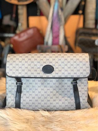 Gucci Vintage GG Plus Flap Bag