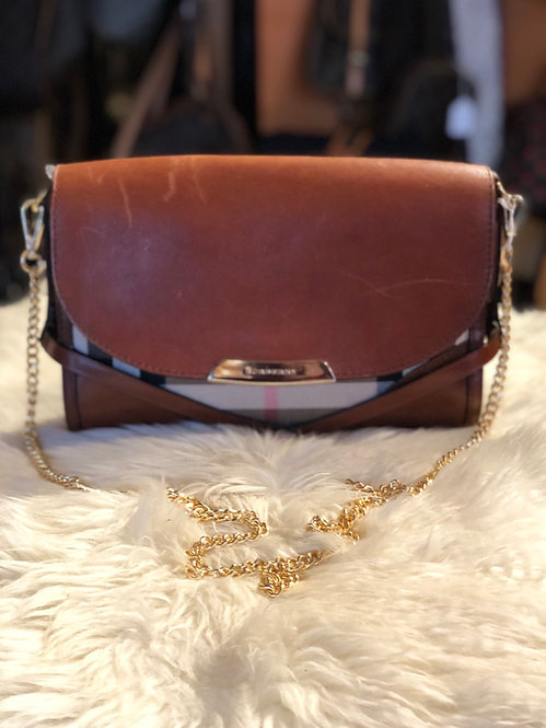 Burberry House Check Bridal Bag