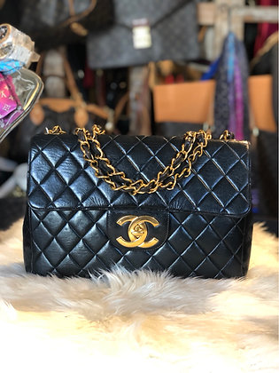 Chanel Classic Jumbo Vintage Single Flap Bag