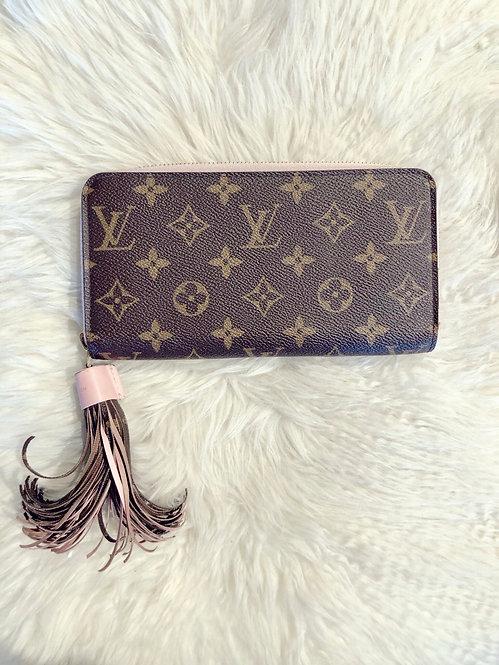 Louis Vuitton Monogram Tassel Zippy Wallet