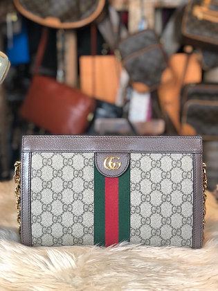 Gucci GG Supreme Ophidia Chain Bag